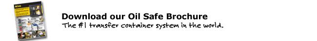 Download our Oil Safe Brochure